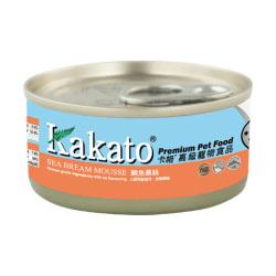 Kakato 卡格 - 鯛魚慕絲 - 70 克