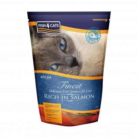 Fish4Cats - 三文魚無麩質低敏全貓種配方 - 6 公斤