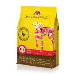 Brabanconne 爸媽寵 - 小型幼犬雞肉配方 (白袋) - 20 公斤