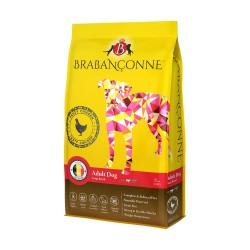 Brabanconne 爸媽寵 - 大型成犬雞肉配方 (白袋) - 20 公斤
