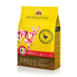 Brabanconne 爸媽寵 - 成貓雞肉配方 (白袋) - 20 公斤