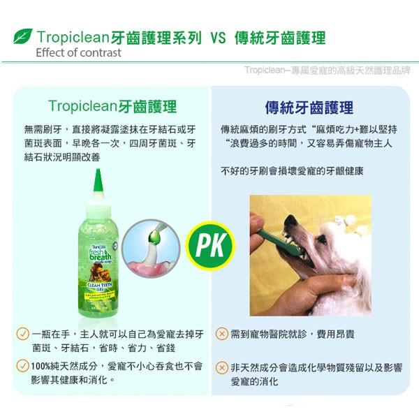 TropiClean - 純天然潔齒凝露 - 4 安士