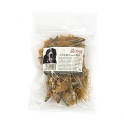 Corwex - 優質雞肉魚乾 - 100 克