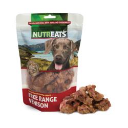 NUTREATS - 自由放養鹿肉低溫凍乾狗小食 - 50 克