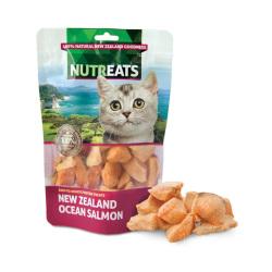 NUTREATS - 紐西蘭三文魚低溫凍乾貓小食 - 50 克