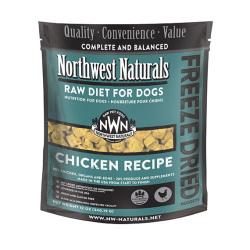 Northwest Naturals NWN - 凍乾脫水雞肉全犬狗糧 - 12 安士