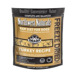 Northwest Naturals NWN - 凍乾脫水火雞肉全犬狗糧 - 12 安士