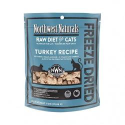 Northwest Naturals NWN - 凍乾脫水火雞肉全貓糧 - 11 安士