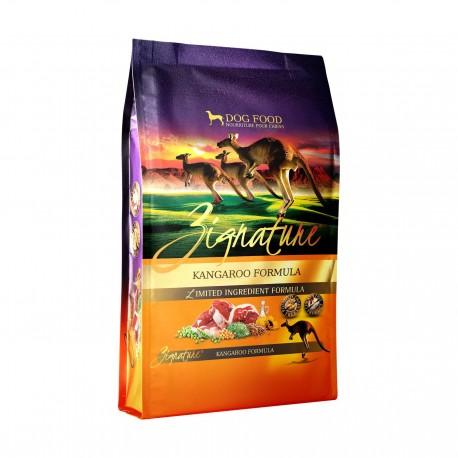 Zignature - 全犬無穀物袋鼠肉配方 - 4 磅