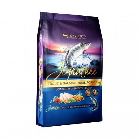 Zignature - 全犬無穀物鱒魚及三文魚配方 - 25 磅