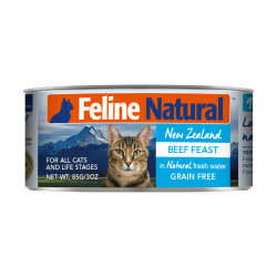 K9 Natural - F9 Feline Natural 牛肉主食貓罐頭 - 85 克