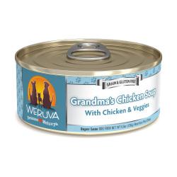 Weruva - 無骨去皮雞胸肉、蔬菜鮮肉狗罐頭 - 5.5 安士