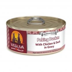 Weruva - 無骨去皮雞胸肉、鴨肉鮮肉狗罐頭 - 5.5 安士