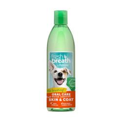 TropiClean - 純天然清新口氣潔齒水 (亮澤毛髮配方) - 16 安士
