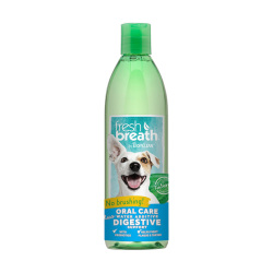 TropiClean - 純天然清新口氣潔齒水 (健康腸道配方) - 16 安士