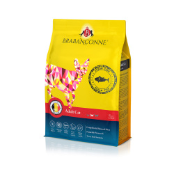 Brabanconne 爸媽寵 - 成貓魚肉配方 (白袋) - 20 公斤
