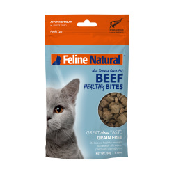 K9 Natural - F9 Feline Natural 凍乾脫水牛肉貓小食 - 50 克