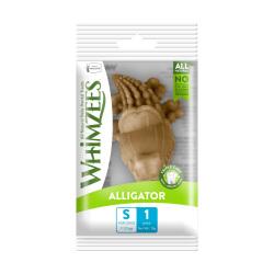 WHIMZEES - 小型犬專用鱷魚形高效潔齒骨 - 0.5 安士