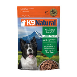 K9 Natural - 凍乾脫水羊肉全犬鮮肉狗糧 - 3.6 公斤