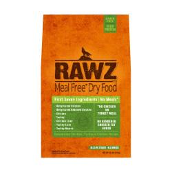 RAWZ - 脫水雞肉、火雞肉、雞肉全犬糧 - 3.5 磅