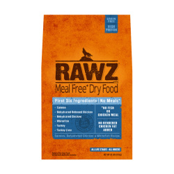 RAWZ - 三文魚、脫水雞肉、白肉魚全犬糧 - 20 磅