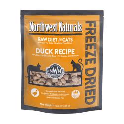 Northwest Naturals NWN - 凍乾脫水鴨肉全貓糧 - 4 安士