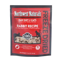 Northwest Naturals NWN - 凍乾脫水兔肉全貓糧 - 11 安士