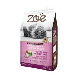Zoe - 火雞配豌豆及焗薯天然室內貓糧 - 1.36 公斤