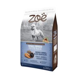 Zoe - 雞肉配藜麥及黑豆小型成犬糧 - 2 公斤