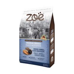 Zoe - 雞肉配藜麥及黑豆中型成犬糧 - 5 公斤