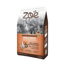 Zoe - 火雞配鷹咀豆及甜薯中型成犬糧 - 5 公斤