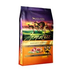 Zignature - 全犬無穀物袋鼠肉配方 - 13.5 磅 到期日:2020-05-12
