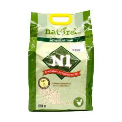 N1 - 俄羅斯天然玉米豆腐砂 3 毫米粗粒裝 (咖啡) - 17.5 公升