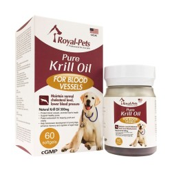 Royal-Pets - 純正磷蝦油丸 - 60 粒 到期日:2020-06-07