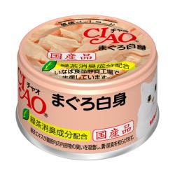 CIAO - 白身吞拿魚貓罐頭 - 85 克