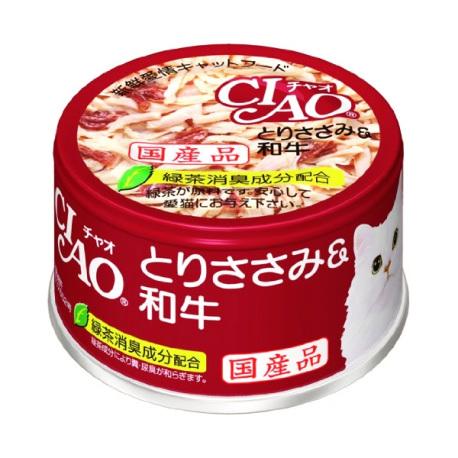 CIAO - 雞肉、和牛貓罐頭 - 85 克