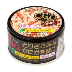 CIAO - 雞肉、蟹柳棒貓罐頭 - 85 克