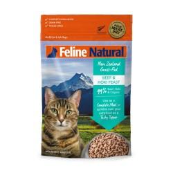 K9 Natural - F9 Feline Natural 牛肉及藍尖尾鱈魚盛宴貓糧 - 320 克