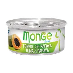 Monge 清新水果系列 - 吞拿魚配木瓜 - 80 克