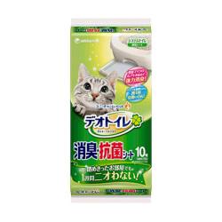 unicharm - 無香消臭抗菌砂盆尿墊 - 10 片