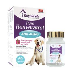 Royal Pets - 純正白藜蘆醇- 60 粒