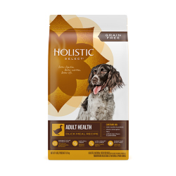 Holistic Select - 無穀物鴨肉成犬配方 - 4 磅 到期日:2020-09-03
