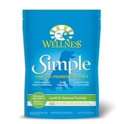 Wellness 寵物健康 - Simple 防敏感羊肉燕麥配方 - 26 磅 到期日:2020-09-14
