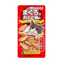 INABA - 雞肉小魚燒、鰹魚節味貓小食 - 25 克