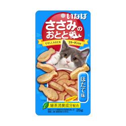 INABA - 雞肉小魚燒、帶子味貓小食 - 25 克 到期日:2020-09-24