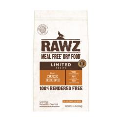 RAWZ - 單一動物蛋白配方鴨肉全犬糧 - 3.5 磅 到期日:2020-11-27