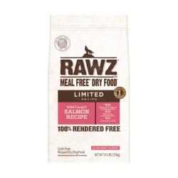 RAWZ - 單一動物蛋白配方野生三文魚全犬糧 - 3.5 磅 到期日:2020-11-27