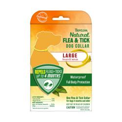 TropiClean - 純天然精油防蚤及蜱蟲頸圈 (大型犬專用) - 40 克