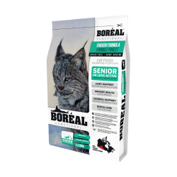 Boreal - 無穀物雞鮮肉長青配方貓糧 - 5 磅