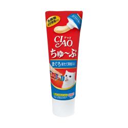 CIAO - 唧唧超奴 400 億個乳酸菌吞拿魚+帶子醬 (牙膏裝) - 80 克